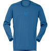 Norrøna Falketind Super Wool longsleeve Heren blauw